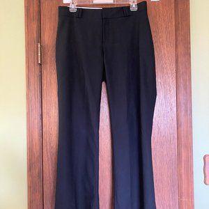 Banana Republic Curvy Fit Size 6S Black Dress Pant